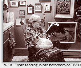 MFK Fisher reading