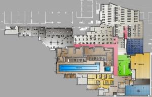 Steve Nash Sports Club Richmond floor plan