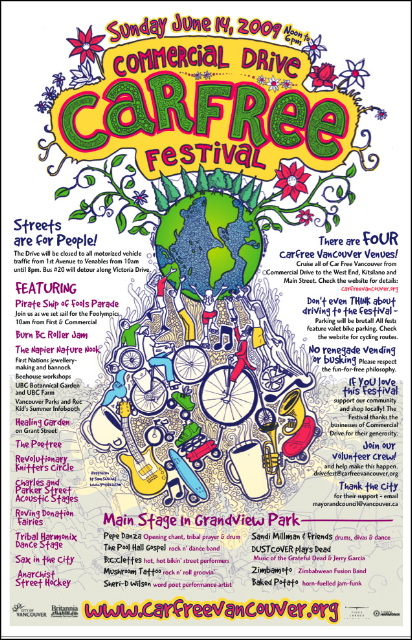 Car-Free Festival on the Drive