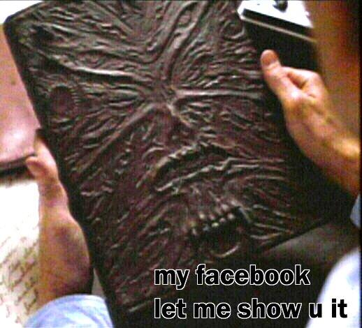 my facebook necronomicomnomnom