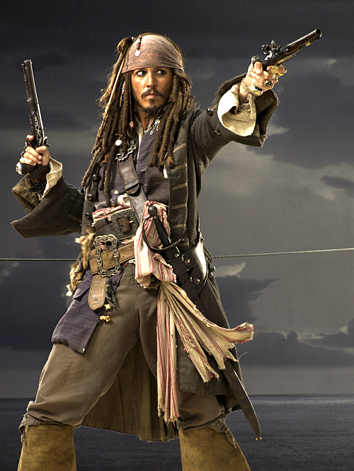 Jack Freaking Sparrow, Bitches!