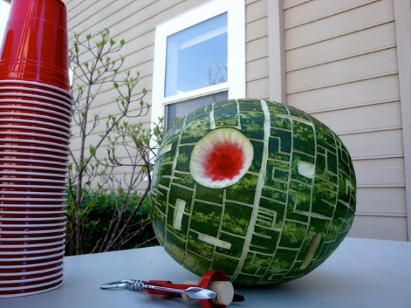 Watermelon Death Star