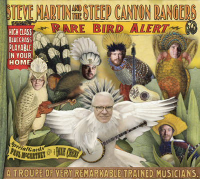 Steve Martin's Rare Bird Alert
