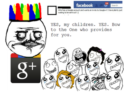 Google Plus is Noah and now SO ARE YOU