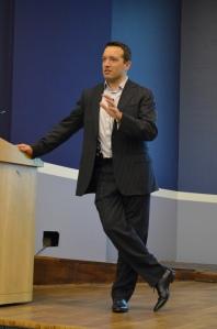 Shane Gibson at Social Media Week Vancouver