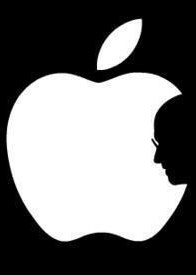 Apple Logo RIP Steve Jobs