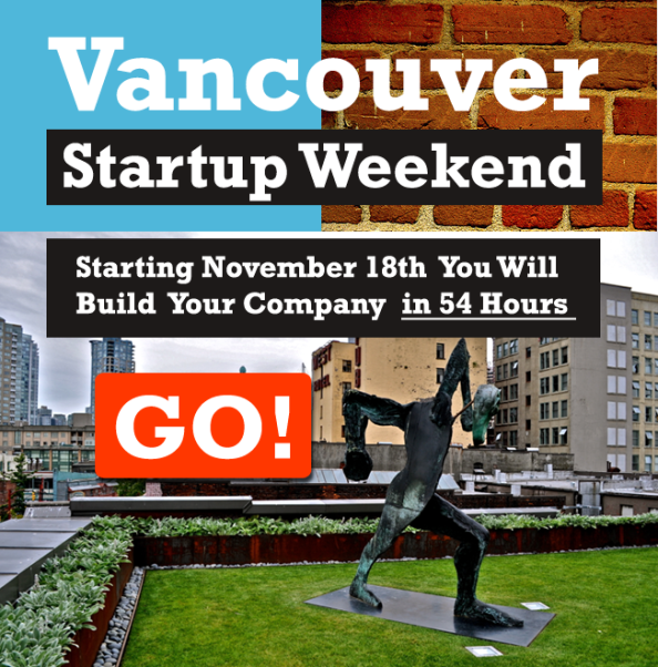 Vancouver Startup Weekend 2011