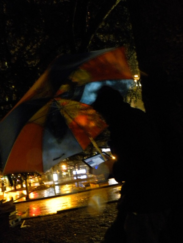 Cameron Bode at Occupy Vancouver