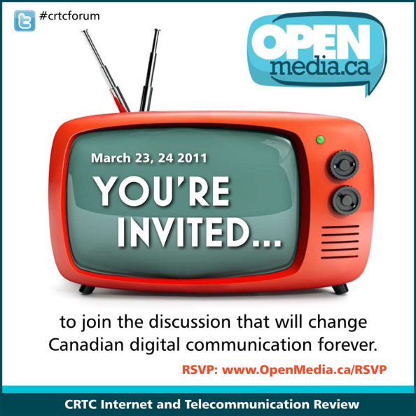 Open Media invites you