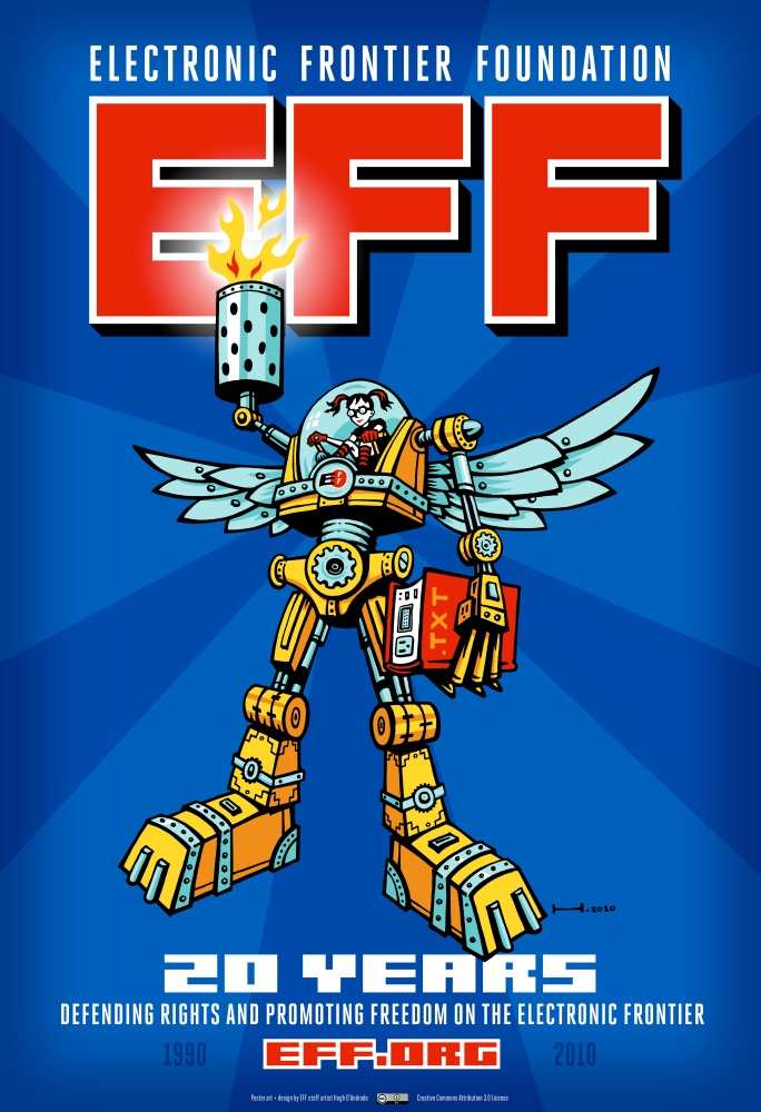 Job: Three Jobs at the Electronic Frontier Foundation