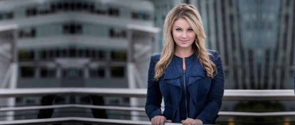 Fiona Forbes, host of The Rush